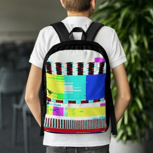 """Backpack """"Abstract"""" high quality"""